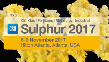 Sulphur 2017 International Conference & Exhibition